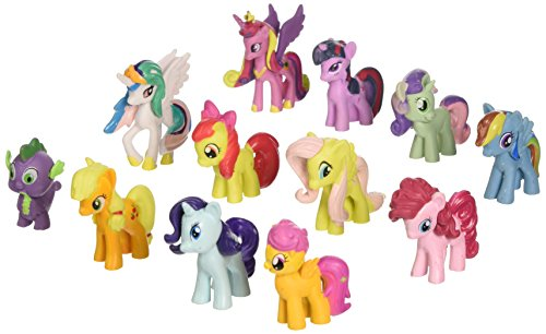 win8fong-12-piece-set-my-little-pony-toys-figurines-playset-multi