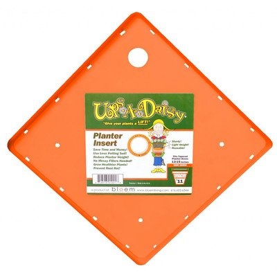 купить Ups A Daisy Square Planter Insert Size: 12