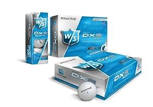 Wilson WGWP27300 Balles de golf Staff Lady Dx2 Soft pour femme Blanc
