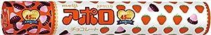 Meiji Choco Apollo, 2.89-Ounce Tubes (Pack of 6)