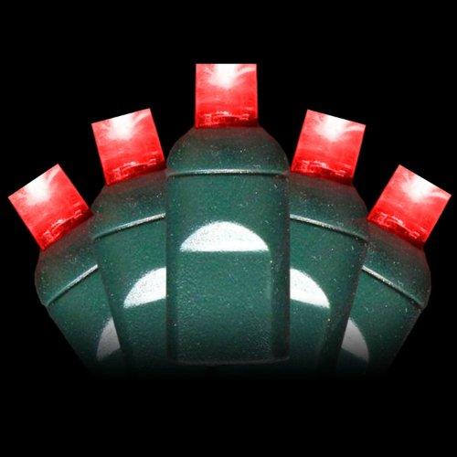 5Mm Red Christmas Lights - Red Wide Angle Christmas Lights