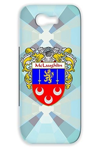 Shockproof Mclaughlin Coat Of Arms Mantled Red For Sumsang Galaxy Note 2 Shield Last Name Irish Cities Countries Scotland Celtic Ireland Surname Mclaughlin Wales Family Crest England Heritage Gaelic Ancestry Flags Protective Case front-657313