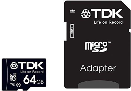 【Amazon.co.jp限定】TDK microSDXCカード 64GB Class10 UHS-1対応 最大転送速度30MB 5年保証 MCSDXC10UV-64G-FFP (FFP)