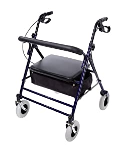 ritecare 8 inch wheel walker how to use