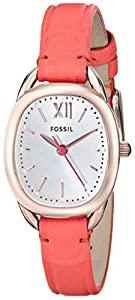 Fossil Women's ES3580 Analog Display Analog Quartz Red Watch