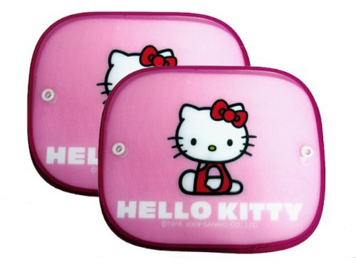 Spring Sun Shade for Cars - Hello Kitty Pink