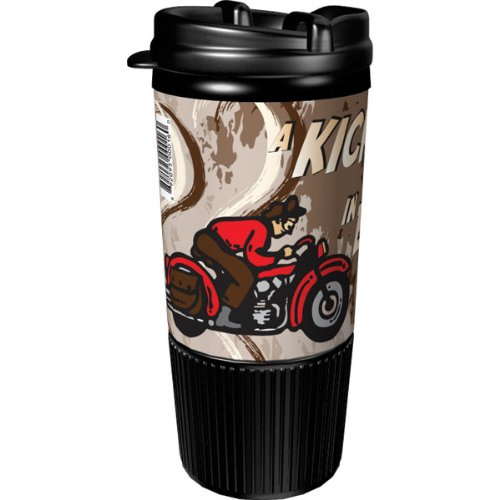 Busted Knuckle Garage Motorcycle Insulated Travel Mug