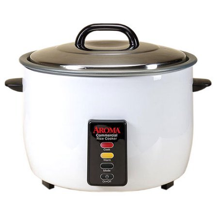 60-Cup Nonstick Cooking Pot Commercial Rice Cooker, White (Aroma 60 Cup Rice Cooker compare prices)