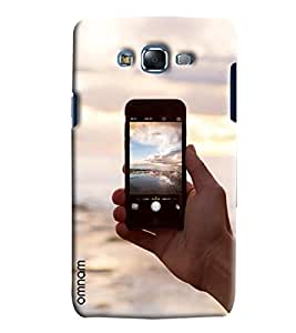 Omnam View Clicked On Iphone Printed Designer Back Cover Case For Samsung Galaxy J5