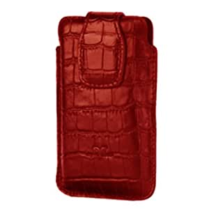 DC Floater Cover Pattern Case for BlackBerry Bold Touch 9900 / 9930- Red