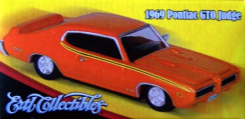 1969 Pontiac GTO Judge 1:64 Die Cast