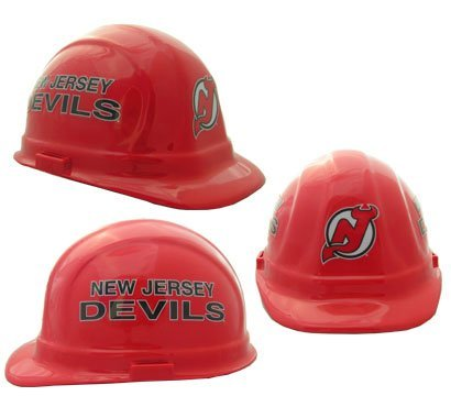 Wincraft NHL Hockey Ratchet Suspension Hardhats - New Jersey Devils Hard Hats (New Jersey Devils Hard Hat compare prices)