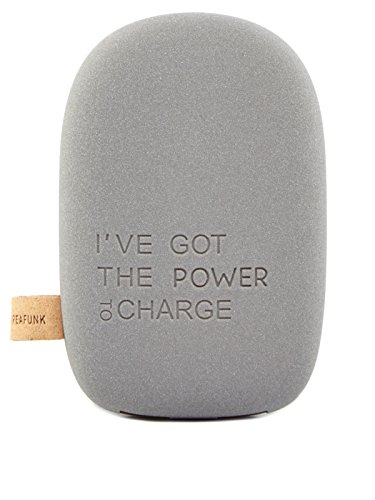 kreafunk-to-charge-powerbank-ladegeraet-one-size-dunkelgrau