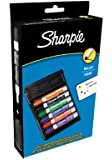 Sharpie Bullet Tip Whiteboard Markers Assorted Colours (Pack of 6 with Eraser)