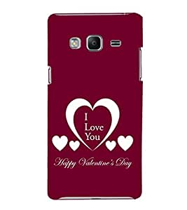 EPICCASE valentines day Mobile Back Case Cover For Samsung Tizen Z3 (Designer Case)