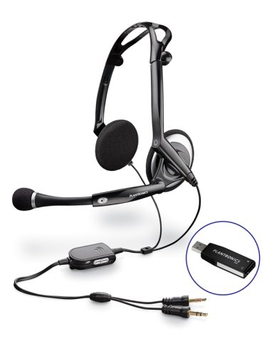 Foldable USB Stereo Headset