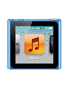 Apple iPod nano 8GB - Blue - 6th Generation (Launched Sept 2010)