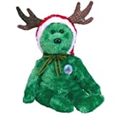 TY 2002 Holiday Teddy Beanie Baby