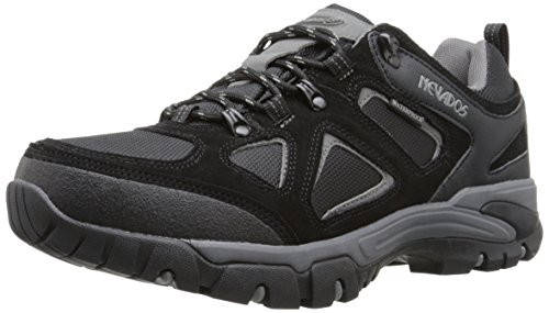 Nevados Men's Spire Low Waterproof Hiking Shoe, Black/Grey, 10 M US