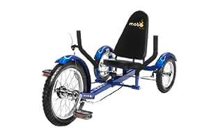 Mobo Triton Ultimate Three Wheeled Cruiser, Blue,