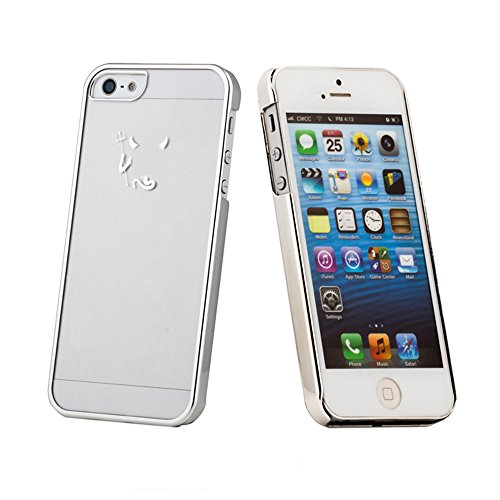 Amjimshop Vovotrade(Tm) Luxury Little Devil Fun Hard Skin Case Cover For Iphone 5 5G 5S (Silver)