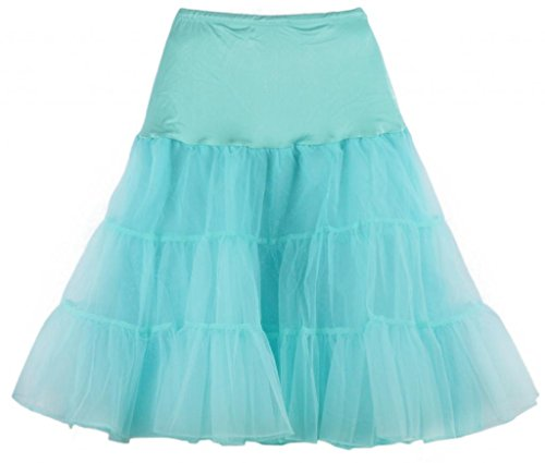 Eyekepper 50s Vintage Rockabilly Net Petticoat Dance Dress Skirt Tutu