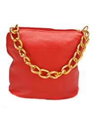 Young & Forever Exclusive Red Sling Bag for Women