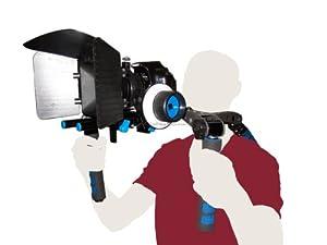 RedStar DSLR Customizable Folding Rig Cinema Kit with Consumer Series Follow Focus and Matte Box