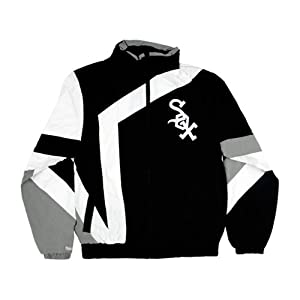 Chicago White Sox One-On-One Windbreaker by Mitchell & Ness L by Chicago