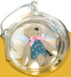 Ganz Cottage Collectible Glass Ball Ornament Charles