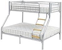 Ideal Furniture Teri Triple Sleeper Bunk, Silver