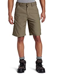 Carhartt Men's Canvas Work Short B147,Light Brown,38