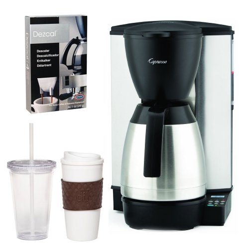 Capresso 48505 MT600 Plus 10-Cup Programmable