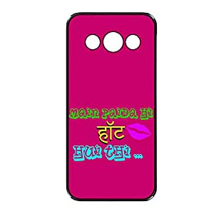 Vibhar printed case back cover for Samsung Galaxy J1 HoHuiThi