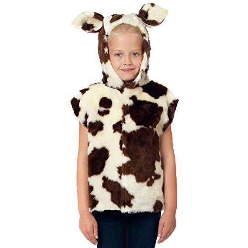 Cow Costume for kids. One Size 3-9 Years.