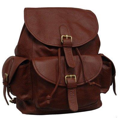 amerileather-urban-buckle-flap-backpack-black