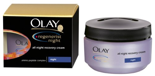 Olay Regenerist Continuous Night Recovery Moisturiser Cream 50 ml