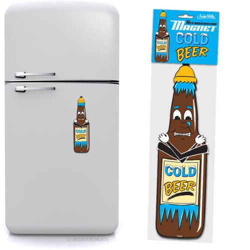 Cold Beer Jumbo Refrigerator Magnet
