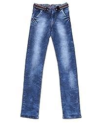 DUC Boy's Denim Light Blue Jeans (kd13-lb-40)