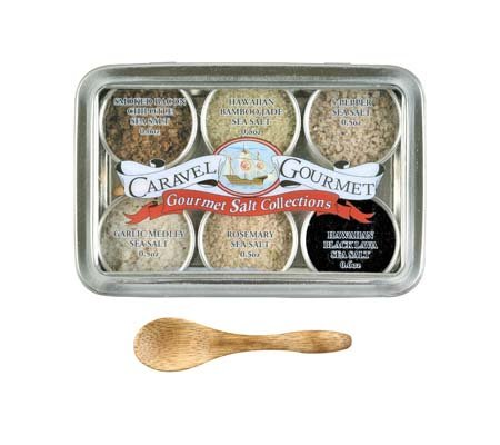 Caravel Gourmet Salt Sampler, Infused, 8.5-Ounce (Infused Salt compare prices)