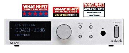 Audiolab M- Dac argent convertisseur DA