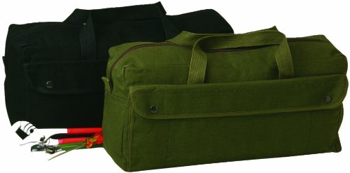 Texsport Canvas Tool Bag (Jumbo Black)