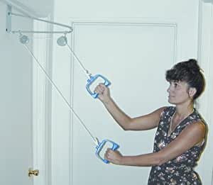 DMI Shoulder Arm Exercise Pulley Set, Over the Door