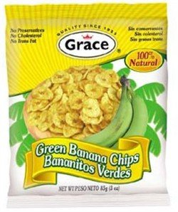 Grace Green Banana Chips, 3oz