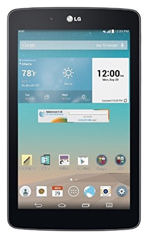 LG G Pad V410 16GB Unlocked GSM 7-Inch 4G LTE Android Tablet PC - Dark Gray (No Warranty) (Android Pad compare prices)
