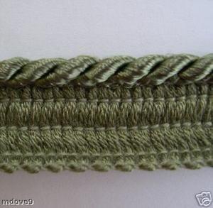 12 Yd Wrights Washable Narrow Lip Cording 528 Sage Green