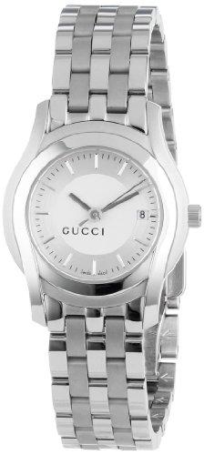 Gucci Women's YA055519 G-Class Silver Matte Dial Watch