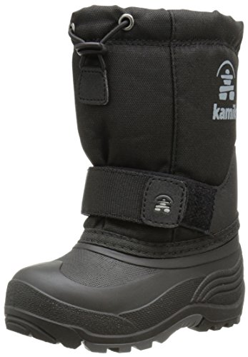 Kamik Rocket Cold Weather Boot (Toddler/Little Kid/Big Kid),Black,2 M US Little Kid (Kids Boots For Boys compare prices)