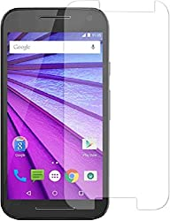 ShopAIS Anti Burst Tempered Glass Screen Guard Protector For Motorola Moto G3 / MOTO G (3rd Gen)