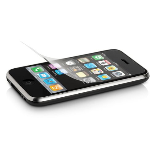 Anti-Glare & Scratch-Proof LCD Screen Protector For Apple iPhone 3GS, iPhone 3G, iPhone 2G